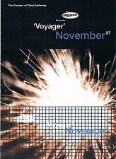 UNIVERSE VOYAGER Rave Flyer Flyers November 1997 A6 Complex Islington London