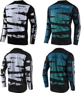 Troy Lee Designs Mens Sprint Brushed Bike Jersey All Colors All Sizes