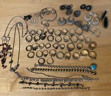 Sterling Silver Jewelry Lot/No Scrap Lots Of Nice Silver