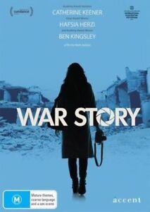 War Story - DVD - 2014 Catherine Keener, Ben Kingsley Hafsia Herzi - REGION 4