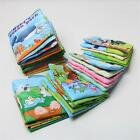 Baby Cute Soft Intelligence Development Cloth Cognize Book Educational Toy C GP