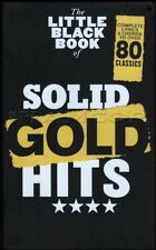 The Little Black Book of Solid Gold Hits Guitar Chord Songbook SAME DAY DISPATCH