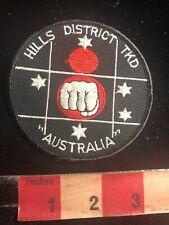 Hills District Tkd Australia Martial Arts Patch 01Rn