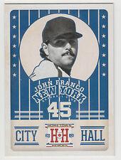 JOHN FRANCO 2013 Panini Hometown Heroes Baseball City Hall Card #CH6 Mets