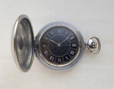 Vintage Soviet Russian mechanical pocket watch  MOLNIJA. USSR