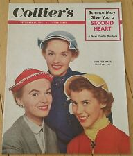 COLLIERS MAGAZINE SEPTEMBER 27 1952 CHAFIK MYSTERY COLLEGE HATS SECOND HEART