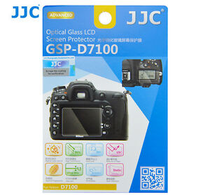 JJC GSP-D7100 Optical GLASS LCD Screen Protector Film for NIKON D7100 D7200