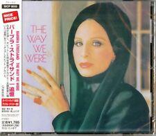 BARBRA STREISAND-THE WAY WE WERE-JAPAN CD D46