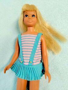 Vintage Barbie 1968 MOD SKIPPER TWIST 'N TURN DOLL 👙OSS #1105 EXC!