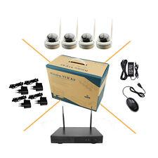 4CH HD 960P Wireless IP Camera System Wifi NVR KIT CCTV Indoor Security IR Night