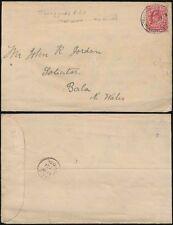 WALES KE7 1905 RAILWAY POSTMARK TRAWSFYNYDD RSO MERIONETH to BALA
