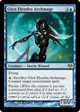 GLEN ELENDRA ARCHMAGE Eventide MTG Blue Creature — Faerie Wizard RARE