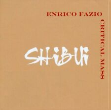 Enrico Fazio Critical Mass - Shibut - CD - NEW - SEALED