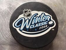 2008 NHL Winter Classic Souvenir Style Collectible Puck Pittsburgh vs Buffalo