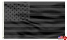 All Black American 3 x 5 Flag 3x5 Banner US USA Flag Blackout Man Cave Flags New