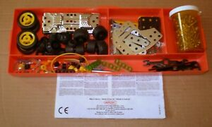 MECCANO SHEET + MIXED LOT PARTS