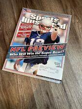 Tom Brady New England Patriots Sports Illustrated 2004