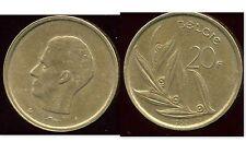 BELGIQUE  20 francs  1982  ( belgie)   ( bis )