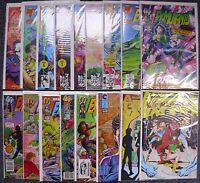 Ex-Mutants LOT of 17 Comics - Malibu 1-14 Eternity 4 Liefeld Amazing Comics 2 &5
