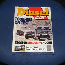DIESEL CAR ISSUE 51 DECEMBER 1992 - TOUGHIES ON TEST/VAUXHALL NOVA SXTD vs SXI