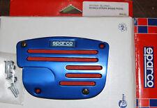 SPARCO SP37864 STRIPE BRAKE PEDAL BLUE RED NEW NOS RARE!!