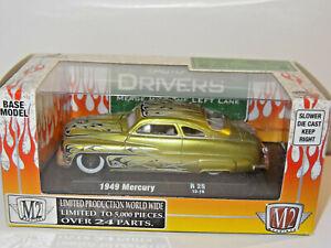 M2 MACHINES DRIVERS GREEN 1949 MERCURY MERC