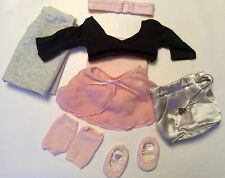 American Girl Doll Girl of Today Ruby Ballet Outfit Retired Full Set EUC 10 Pcs