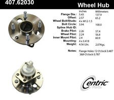 C-TEK Standard Wheel Bearing & Hub Assembly fits 1991-2002 Saturn SL2 SC2 SW2  C