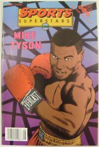 SPORTS SUPERSTARS 5 REVOLUTIONARY NEWSSTAND COMIC MIKE TYSON BOXING 1992 VF-