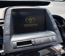 06-08 TOYOTA PRIUS NAVIGATION GPS RADIO INFORMATION DISPLAY SCREEN 86110-47220