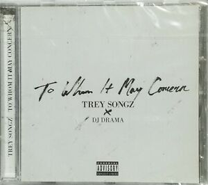 CD TREY SONGZ - TO WHEN IT MAY CONCERN neuf sous blister