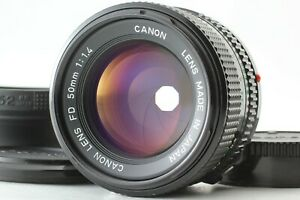 [MINT w/ Hood] CANON New FD 50mm f/1.4 NFD Fixed/Prime MF Lens From JAPAN
