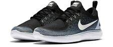 Nike Free Run Distance 2 Flyknit Dark Grey Women's Running Shoes UK 5.5 EU 39