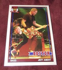 PEARL JAM Fenway Baseball Card - Jeff Ament 4 red - Boston pack red sox