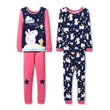 Peppa Pig Girl s Twinkle Little Star 4-Piece Cotton Pajama Set 4123183d7