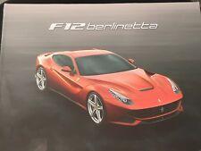 Authentic Ferrari F12 Berlinetta Hard Cover Brochure 95993373