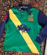 VTG NEW/W/TAGS  Polo Ralph Lauren Polo Challenge Cup 1967 Rugby Shirt SZ LARGE
