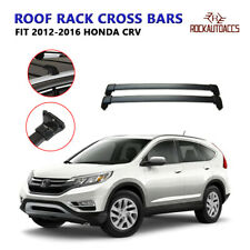 ROKIOTOEX Roof Rack Cross Bar Cargo Carrier Fit 2012-2016 Honda CRV Black