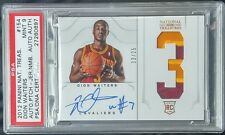 2012 National treasures DION WAITERS RC (PSA 9) AUTO 13/25 ** AUTO PATCH ** MINT