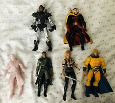Marvel Legends Lot - 6 Loose Figures, Doctor Strange, Sentry, Ironman, Valkyrie