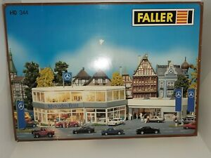 Faller HO 344 or 130344 Mercedes Benz Dealership 1/87 New FREE SHIPPING