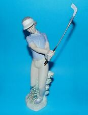 Nao by Lladro Figurine sport ornament golf Golfer ' Fore ' #02000451 1st Q (5372