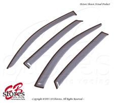 For Toyota Avalon Sedan 95-00 Tape On Ash Grey JDM Window Visors Deflector 4pcs