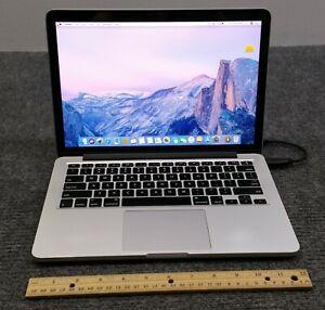 """Apple MacBook Pro A1502 MGX72LL/A 2014 13.3"""" Laptop i5-4278U, 8GB, 500 GB SSD"""