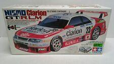 Rare Tamiya Nissan Skyline Nismo GT-R LM Clarion 1/10 RC EMPTY Box Japan 1995