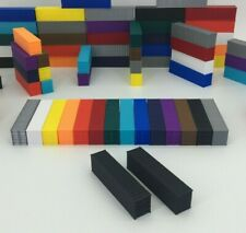 NEW (2) 40' Shipping Containers - N Scale 1:160 - BLACK - ALL COLORS AVAILABLE!