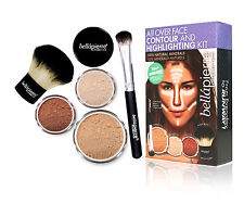 Bellapierre All Over Face Contour and Highlighting Kit - MEDIUM - Mineral Makeup