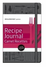 MOLESKINE PASSION JOURNAL - RECIPE, LARGE, HARD COVER (5 X 8.25) - Hardcover