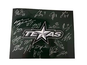 Texas Stars 2019-2020 Autographed Team Logo 11x14