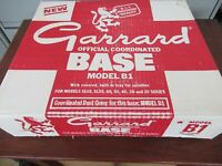 Garrard B1 turntable Base SL65 SL55 60, 50 40 30 20 Series record player NEW NOS